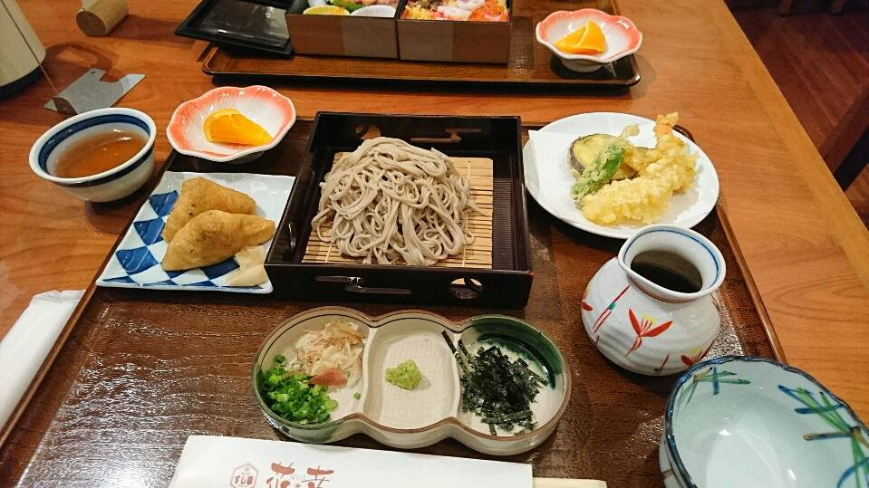 博多座夕食