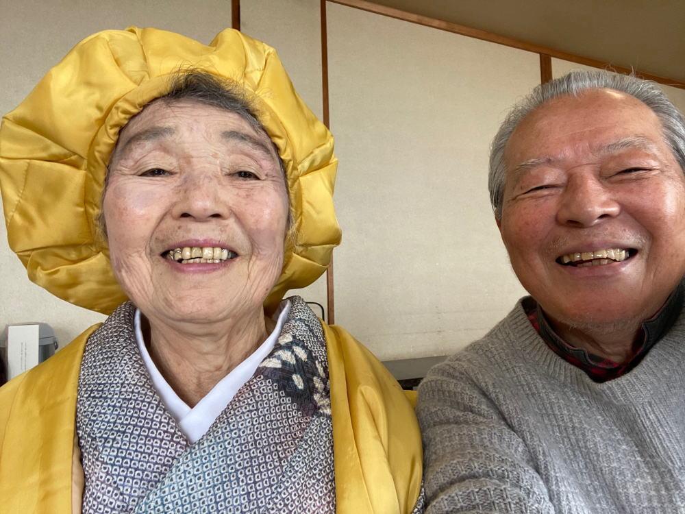 義母米寿祝い